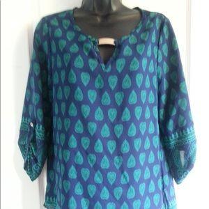 Lily Morgan paisley pattern blouse